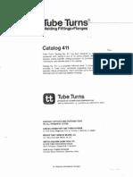 Tube Turn-Welding Fitting Flange CAT.411