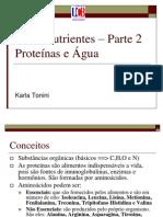 Aula Proteinas e Agua
