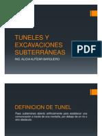 09 -SEMANA 9_TUNELES Y EXCAVACIONES SUBTERRÁNEAS