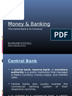 Central Bank's Functions