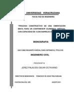 Proceso Cons. Cimetacion Mixta Contenedor Cilindrico