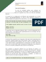 Configuración de IP Estática en Ubuntu Server 8.10