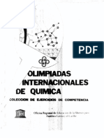 Coleccion de Problemas de Olimpiadas Internacionales Quimica
