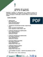 Jornada de La Salud 2013-0