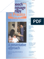 Speech & Language Therapy in Practice, Summer 1997