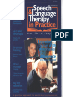 Speech & Language Therapy in Practice, Autumn 1997