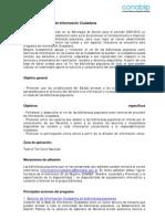01-A Programa de Informacion Ciudadana
