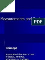 Measurement & Scales