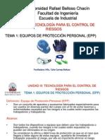 UNIDAD III. TEMA 1 Equipos de Protección Personal.ppt