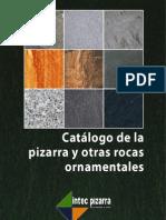 catálogo de la pizarra y otras rocas ornamentales