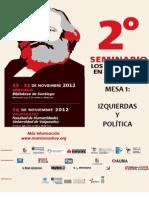 Dossier 2° Seminario Los Marxismos en el Siglo XXI. Mesa 1 Izquierda y Política