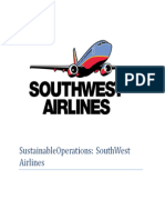 SouthWest Airlines - Sustainable Operation Management