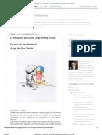 La hora de la educación Jorge Medina Viedas