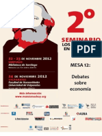 Dossier 2° Seminario Los Marxismos en el Siglo XXI. Mesa 12 Debates sobre economía