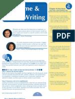 Resume Letter Writing