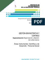 Bachillerato Tecnico Gestion Administrativa y Contable