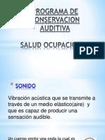 Conservacion Auditiva SO