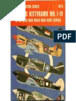 Osprey Aircam Aviation Series 06 - Curtis Kittyhawk MKI-IV in RAF-SAAF-RAAF-RNZAF-RCAF-NEIAF Service
