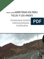 Supercarreteras Ticlio Peru