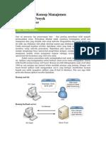 mewujudkan konsep manajemen operasional proyek berbasis server