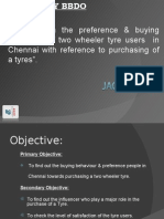 consumer prefernce and buying behaviour of two wheeler tyres