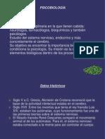 Historia de la psicobiología