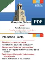 CSC461-CN-Lecture-1-Jan-9-2013