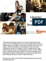 Reading Agency Universal Reading Offer Presentation