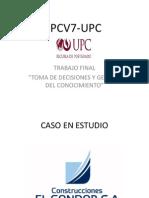 Ppt Construcciones El Condor -Backlog-By Eduardo Gp