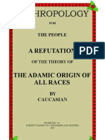 Anthropology for the People Caucasian