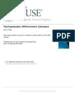 Psychogeography, Détournement, Cyberspace