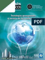 Tecnologías Geoespaciales al Servicio del Desarrollo Territoria