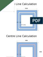 Centre Line Calculations