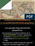 2 Los Grandes Descubrimientos Geogrc3a1ficos