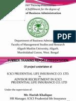 Advisor Recruitment in Icici Prudential