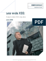 Site Wide Xsss