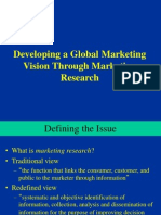 Ch. 8 - Developing Vision (Marketing Research)
