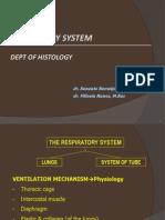 Kul. Histologi Sistem Pernafasan 2011