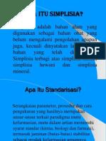 2. Standar Analisis