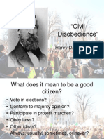 Civil Disobedience Key