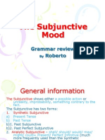 44824829 the Subjunctive Mood