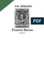 27808977 the New Atlantis by Francis Bacon