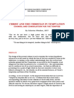 christ and the christian in temptation
