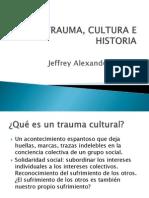 Trauma, Cultura e Historia