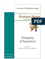 Humana_Mente 10 Philosophy of Economics
