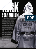 """Kirk Franklin """"A Church Boy in the Fight of His Life"""""""