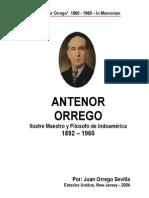 Biografia de Antenor Orrego