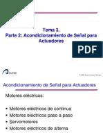 Tema 3.- ACONDICIONADORES DE ACTUADORES ELÉCTRICOS
