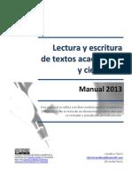 Lectura y Escritura de Textos Academicos y Cientificos 2013