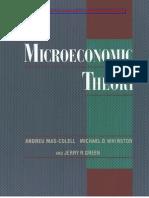 MAS-COLELL, Microeconomic Theory